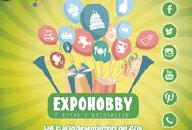 """EXPOHOBBY """"Fiestas y Decoración"""" / Del 15 al 18 de Septiembre, Centro Costa Salguero."""
