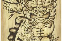 Tiki / Rockabilly and tiki culture