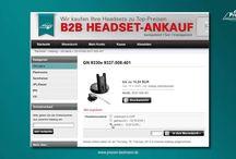 B2B Ankaufportal für Headsets / Ausgezeichnet mit dem Innovations-Preis BEST OF 2014. Wir kaufen Ihre alten und nicht mehr gebrauchten Headsets.