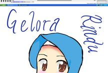 drawing hijab