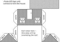 Maisons en papier