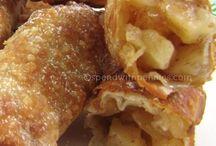 Egg rolls Apple