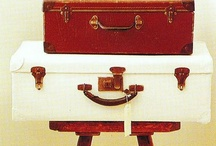Old suitcase ideas / by Patti Rexing