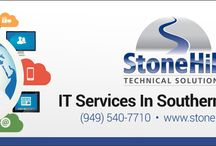 StoneHill Technical Solutions, Inc. / StoneHill is the most recommended IT Company in Orange County. We sit down, listen and really understand what our clients want so contact us for IT help in Orange County.