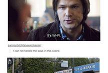 supernatural  off beat humour