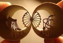 Sculptural Paper Art