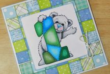 Bears / Cards created with Beccy's Place digital stamps.