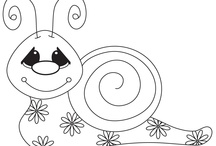 coloring pages / by Kathy Vanderhoff