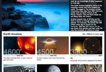 Timelines: Earth history (and future) / What is the history on the Earth? And of the Earth? And what could be the future? And what are different perspectives on the history?