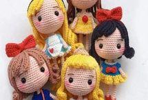 bambole amigurumi