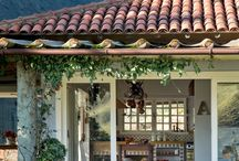 Varandas e casas - arquitetura