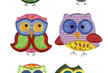 owls mach applique