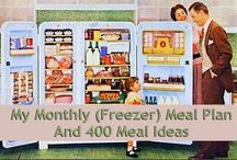 freezer meals / by Susan Park