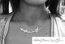 Signature jewellery