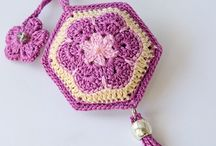 Crochet key shains