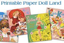 paper dolls / by Deb Hollman