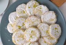 galletas de limon frescas.