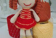 Bambola amigurumi