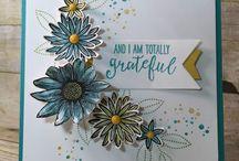 Stampin up Grateful  Bunch