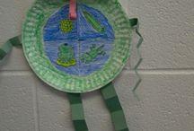 Frog Life Cycle activities / by Glenda Hance