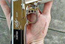 Semi auto hand guns