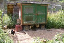 Hühnerstall für den Garten / Hühnerhaltung