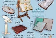 Handcraft - Lace pillows