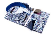 Blue paisley shirt / Dare to be different this winter with this icey blue paisley printed shirt. How would you wear it?