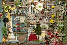 Camping & Outdoors scrapbooking kits / Scrapbooking kits with a camping or outdoor theme