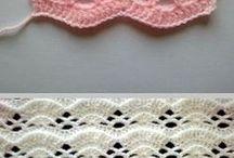 pontos em crochet