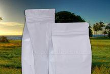 Flat Bottom Bags with Zipper