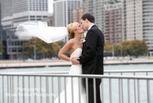 October Wedding Pictures in Chicago  / Wedding pictures at Holiday Inn Chicago Mart Plaza, St Alphonsus Church and downtown & Olive Park Chicago
