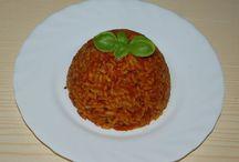 ryż i makarony