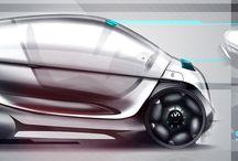Digital Automotive Sketchs / Concept car, digital sketch