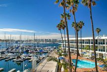 Our Waterfront Oasis / Located right on the water's edge, rest and recharge at the new Marina del Rey Hotel - offering a beautiful infinity pool and unparalleled views of the harbor and boats passing by.