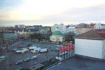 Turun matka 29.-30.11.2016 / Teimme vaimoni kanssa matkan Turkuun mainittuina päivinä. Olin käynyt Turussa aiemmin pari kertaa työmatkalla ja joskus autolauttojen satamissa. Uutta nähtävää siis riitti. Turun taidemuseossa sattui vielä olemaan Helen Sjerfbeck-näyttely.