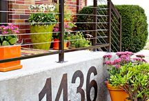 OUR HOME: Ideas for our Front Garden / Porch / by Alexandra Karina Rodriguez~Castro