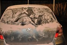 Dirty Car Art / All Star Toyota of Baton Rouge. Check out this amazing Dirty Car Art from artist Scott Wade! New and Used Toyota dealer serving Baton Rouge, LA and surrounding areas. www.allstartoyotaofbatonrouge.com