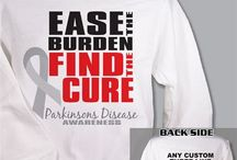 Parkinson's Disease - April / Parkinson's Disease Awareness Shirts and Walk Gear