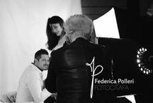 backstage Federica polleri