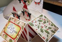 card in a box - kerst