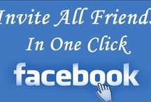 Invite All Friends On Facebook Page in One Click