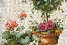 Maľované obrázky -retro