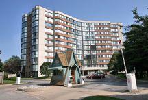 SOVEREIGN  CONDOS l & ll / FALGARWOOD - 1230 - 1240 Marlborough Court, Oakville, Ontario Canada $200K - $450K
