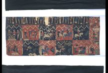 Medieval: Extant embroidery and textiles