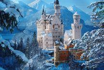 Snow Castles / Il bello dei castelli innevati