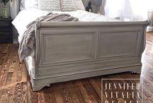 Bed frame makeover