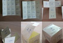 16 vierkanten vouwen= / folding 16 squares=