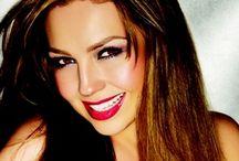 thalipins / Pines sobre la más hermosa mujer de la musica en español Thalia