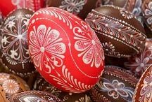 Czech easter eggs / Czech easter eggs